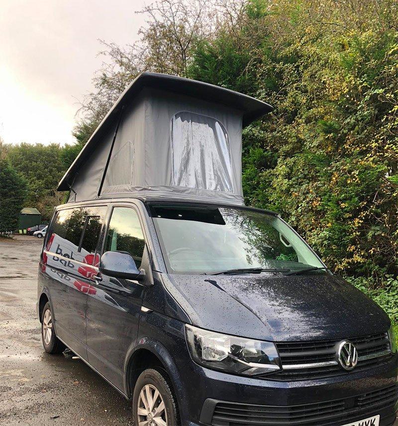 campervan with popup roof