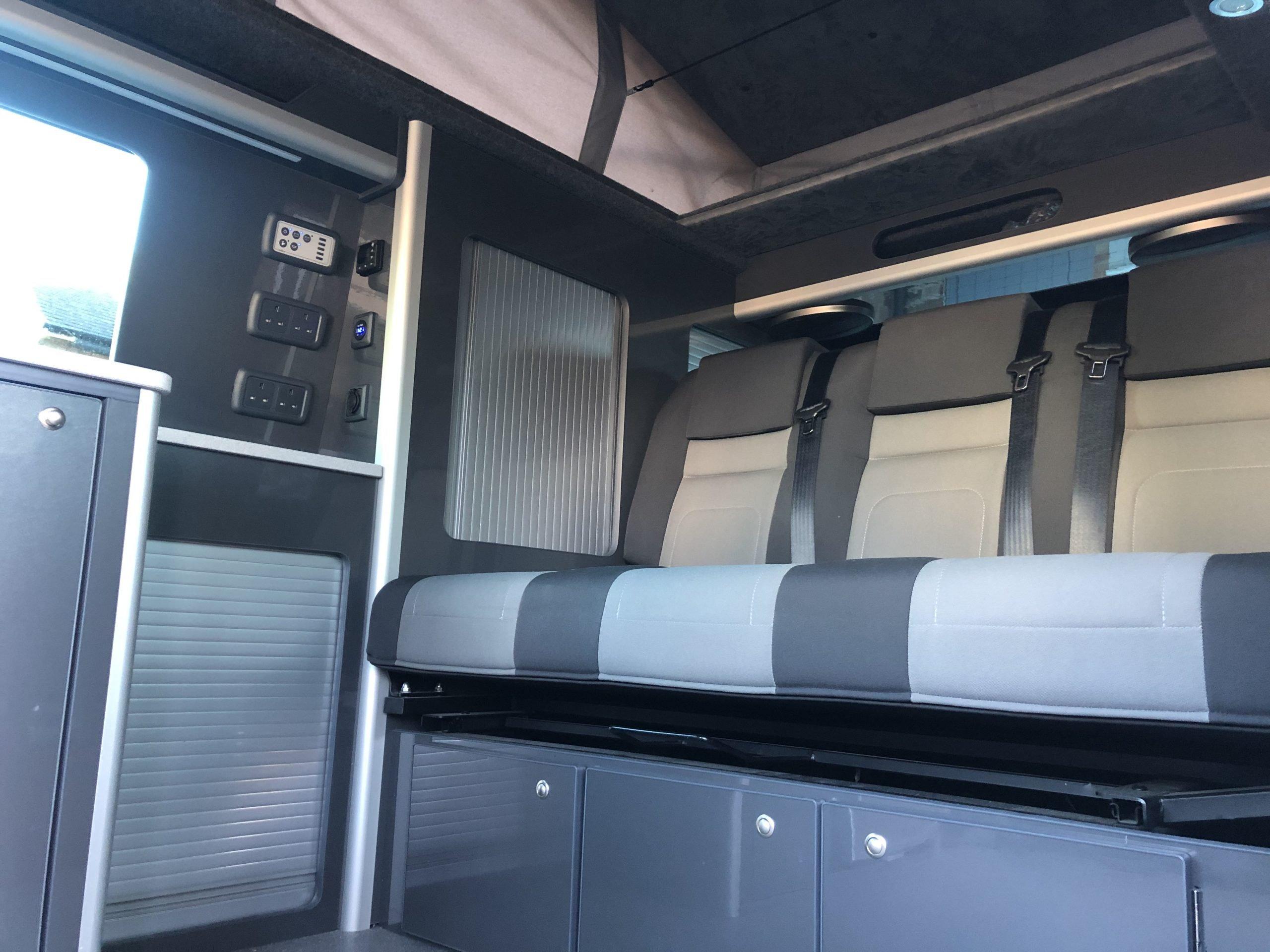 vw campervan custom interior